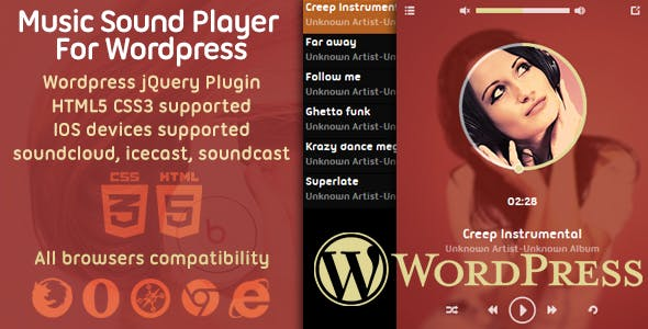 Music Player Plugin For Wordpress