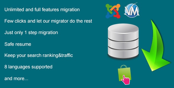 Database Migration from Virtuemart to Prestashop - CodeCanyon Item for Sale