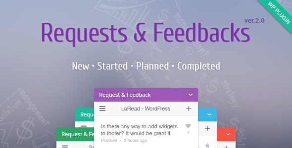WordPress Feedback Plugin - CodeCanyon Item for Sale