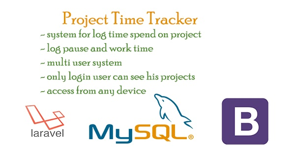 Project Time Tracker - CodeCanyon Item for Sale