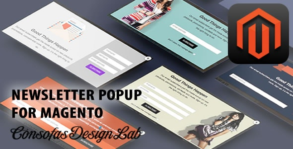 Newsletter Popup for Magento - CodeCanyon Item for Sale