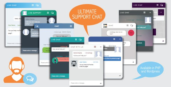 Ultimate Support Chat - PHP Live Chat