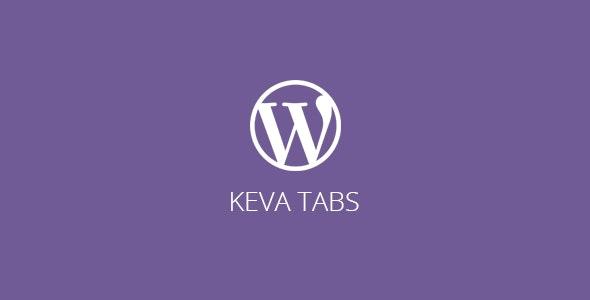 Keva Tabs | WordPress Plugin - CodeCanyon Item for Sale