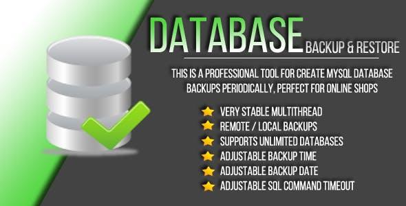 MySQL Database Backup and Restore