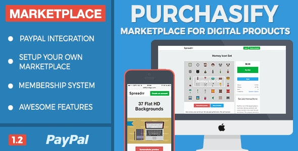 Purchasify - Marketplace for Digital Products - CodeCanyon Item for Sale