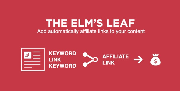 The Elm Leaf – Automatically add links to keywords - CodeCanyon Item for Sale