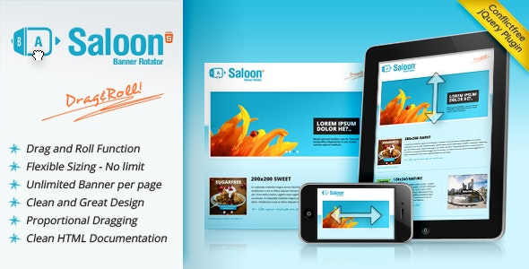 Saloon - The jQuery Banner Rotator Plugin - CodeCanyon Item for Sale