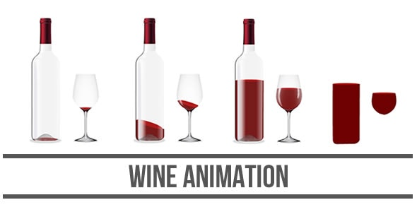 Wine Animation - HTML5 Canvas - CodeCanyon Item for Sale