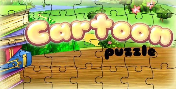 Cartoon Puzzle - CodeCanyon Item for Sale