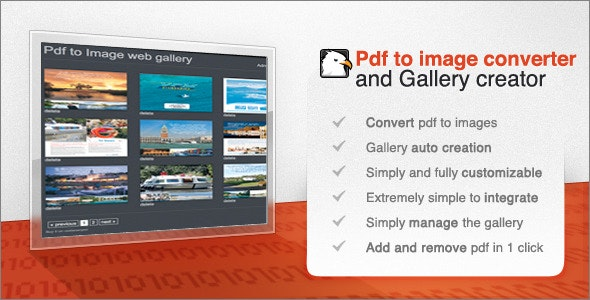 Pdf to Image web gallery creator and tools - CodeCanyon Item for Sale
