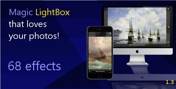 Magic LightBox - jQuery Plugin