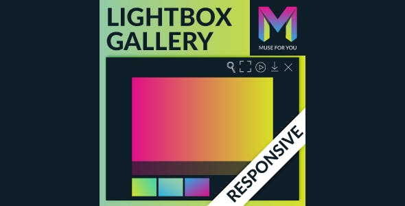 Responsive Lightbox Gallery Widget by Muse For You