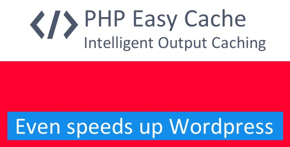 PHP Easy Cache Pro - CodeCanyon Item for Sale
