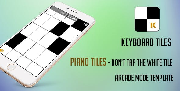 Piano Tiles Template with Corona SDK