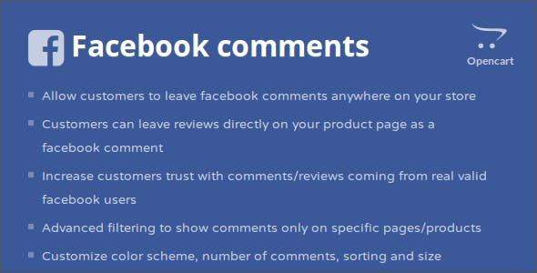Facebook Comments Opencart Module