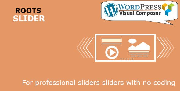 Roots Slider for WordPress & Visual Composer