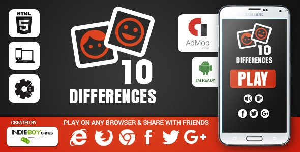 10 Differences - CodeCanyon Item for Sale