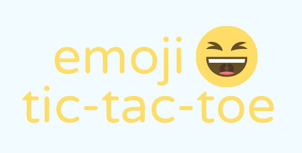 emoji - Tic Tac Toe - Html5 game
