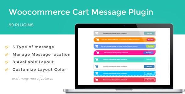 Woocommerce Cart Message