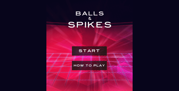 Balls and Spikes - HTML5 Mobile Construct 2 Game