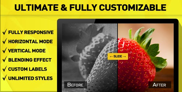 Ultimate Before After Slider for WordPress