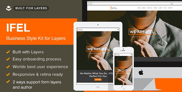 IFEL | Layers Wordpress Style Kits - CodeCanyon Item for Sale