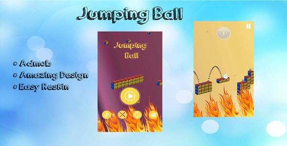 Jumping Ball - CodeCanyon Item for Sale