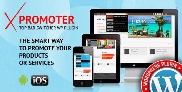 xPromoter - Top Bar Switcher Responsive WordPress Plugin