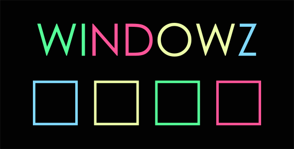 Windowz - Html5 Mobile Game - android & ios