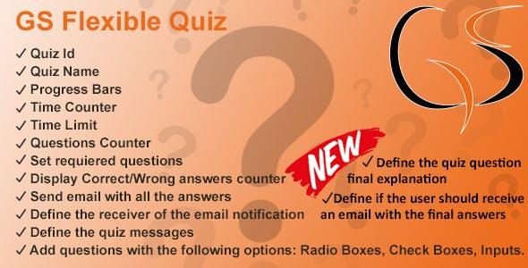 GS Flexible Quiz