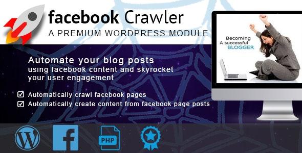 Facebook Crawler for Wordpress - CodeCanyon Item for Sale