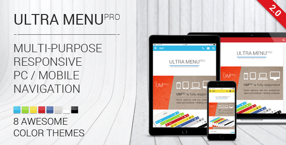 Multipurpose Responsive Navigation Menu