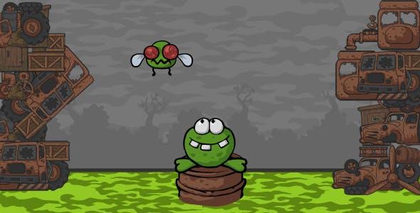 Tonguey Frog
