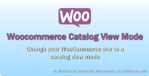 WooPlugins - Woocommerce Catalog View Mode