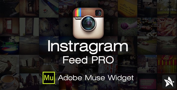 Instagram Feed Pro Widget for Adobe Muse - CodeCanyon Item for Sale