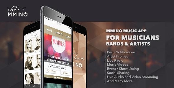 Mmino - iOS Music Band App - CodeCanyon Item for Sale