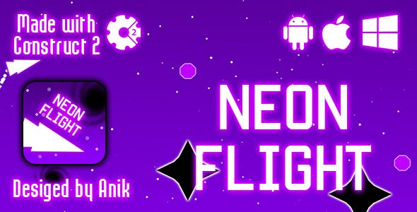 Neon Flight - HTML5 Game (CAPX)