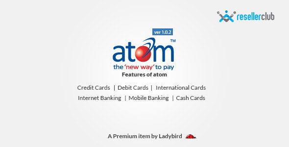 Atom Payment Gateway for Reseller Club - CodeCanyon Item for Sale