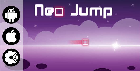 Neo Jump - HTML5 Addictive Game + Admob (Construct 2)