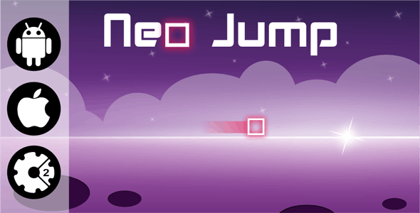 Neo Jump - HTML5 Addictive Game + Admob (Construct 2) - CodeCanyon Item for Sale