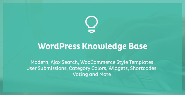 WordPress Knowledge Base & Wiki Plugin for WordPress with Frontend Submission - CodeCanyon Item for Sale