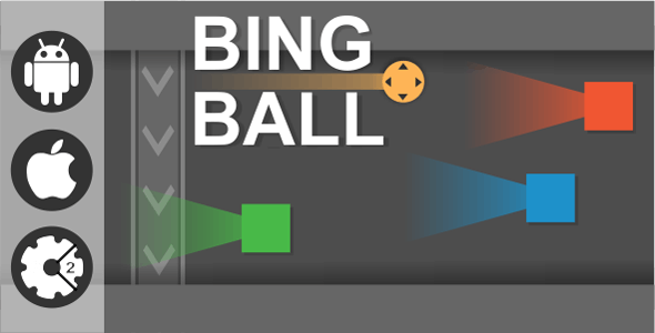 Bing Ball - HTML5 Game + Admob (Construct 2)
