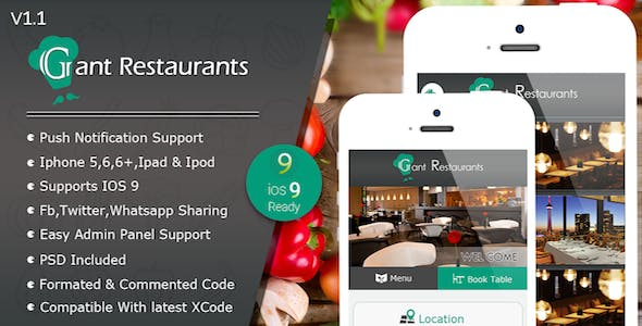 Food Delivery System for Restaurant with backend IOS Full Application