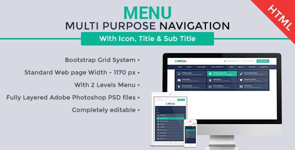 Multipurpose Navigation Menu
