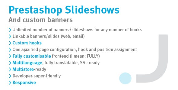 Prestashop Slideshows and Custom Banners
