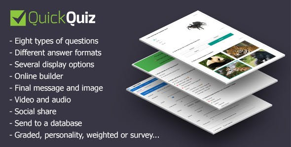 Multiple Choice Plugins, Code & Scripts from CodeCanyon