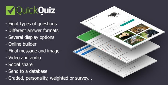 QuickQuiz - CodeCanyon Item for Sale