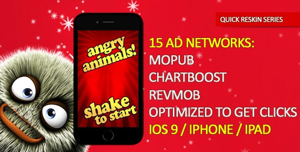 Angry Animals Lite - CodeCanyon Item for Sale
