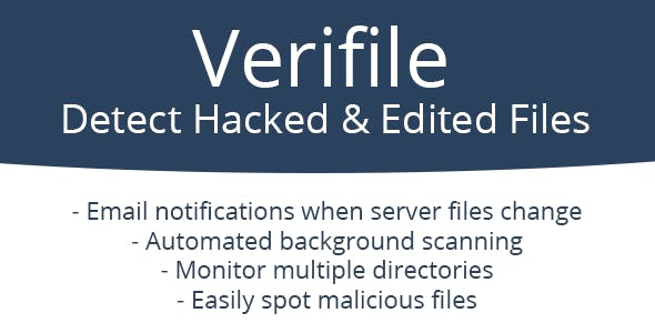 Verifile Security - Detect Hacked & Edited Files
