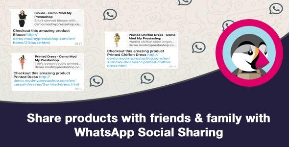 WhatsApp Social Sharing - CodeCanyon Item for Sale